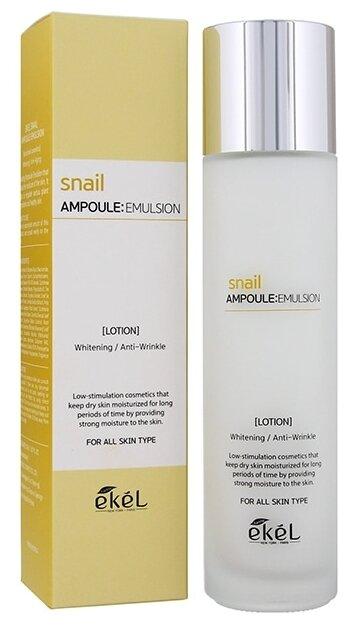Ekel Snail Ampoule Emulsion Эмульсия с муцином