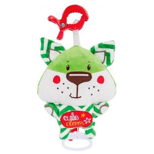 Купить Подвесная игрушка Canpol Babies Лесные друзья (68/048) Лисенок зеленый, Подвески