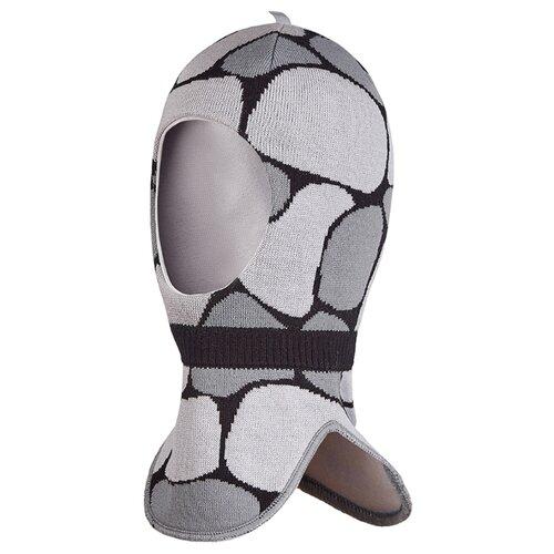 Шапка-шлем Oldos размер 50-52, серый/светло-серый шапка шлем reike размер 50 серый