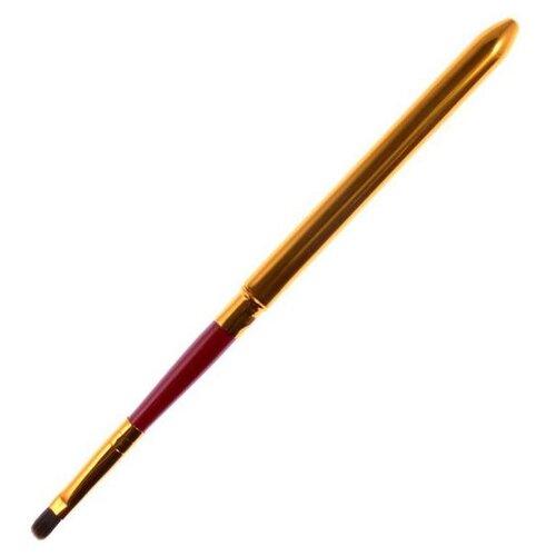 Кисть Ellis Cosmetic APP 017 красный/золотистый маникюрная пилка ellis cosmetic ec rf 017 120 180