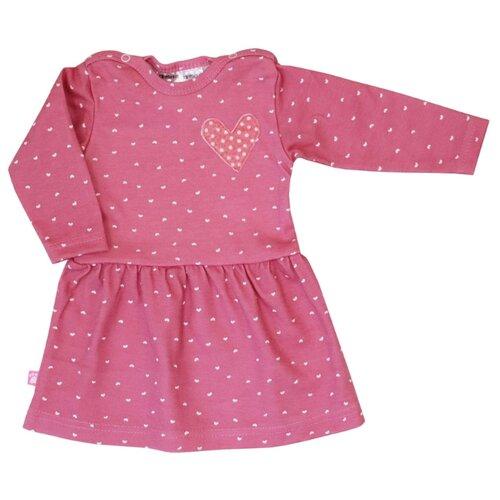 Платье KotMarKot Little Angel размер 74, розовый