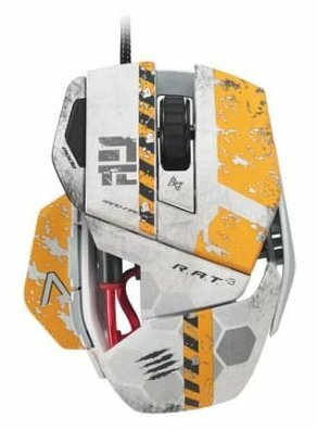 Мышь Mad Catz Titanfall R.A.T. 3 Gaming Mouse for PC Grey USB