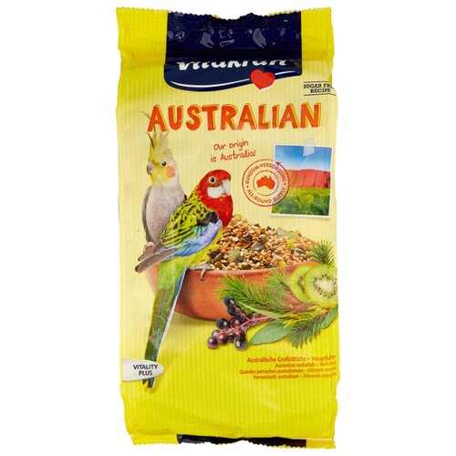 Vitakraft Корм Australian для средних попугаев 750 г