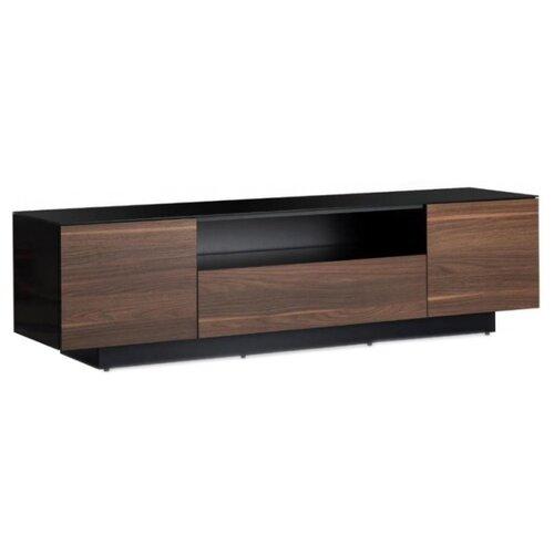 Тумба под телевизор Sonorous LB 1830, ШхГхВ: 180х45х49 см, цвет: черный/светло-коричневый