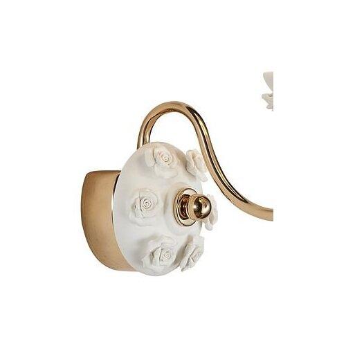 Настенный светильник Люмьен Холл Эрин 1030/1W-GD-WT, 60 Вт