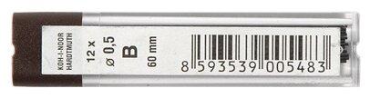 KOH-I-NOOR Грифели для цангового карандаша 4152 B 12 шт. (415200B005PK)