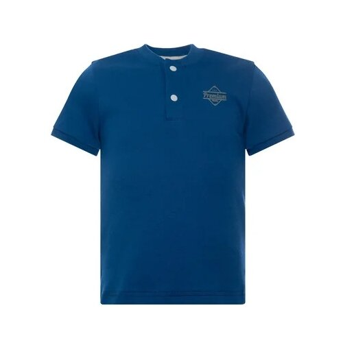 Купить Футболка Утенок, размер 92, индиго премиум, Футболки и рубашки