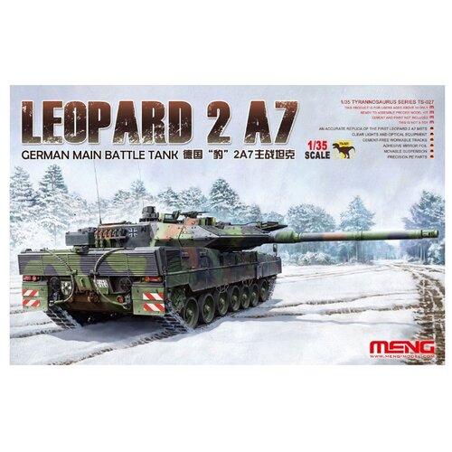 Сборная модель Meng Model Немецкий основной боевой танк Leopard 2 A7 (TS027) 1:35 meng ping ni chinas und hongkongs sozialpolitik