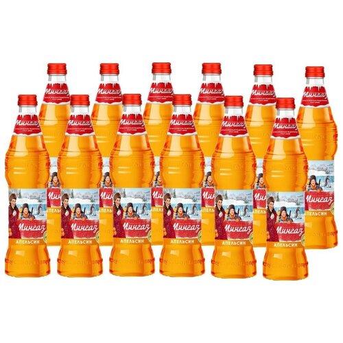 Газированный напиток Мингаз Апельсин, 0.5 л, 12 шт. мингаз лимонад напиток 0 5 л
