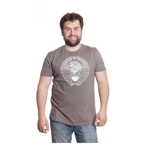 Футболка Magellanno Герб СССР размер XL, серый