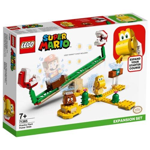 Купить Конструктор LEGO Super Mario 71365 Дополнительный набор Мощная атака Растения-пираньи, Конструкторы