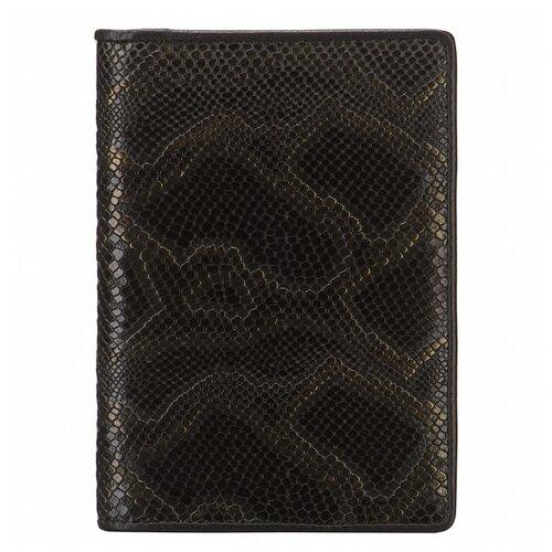 Обложка для паспорта Dr.Koffer X510130-218-64, черный/желтый