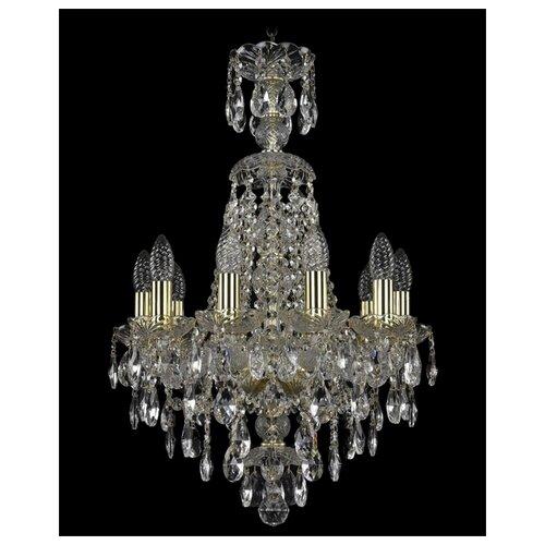 Фото - Люстра Bohemia Ivele Crystal 1415 1415/10/141/XL-66/G, E14, 400 Вт люстра bohemia ivele crystal 1415 1415 20 10 5 400 xl 180 3d g e14 1400 вт
