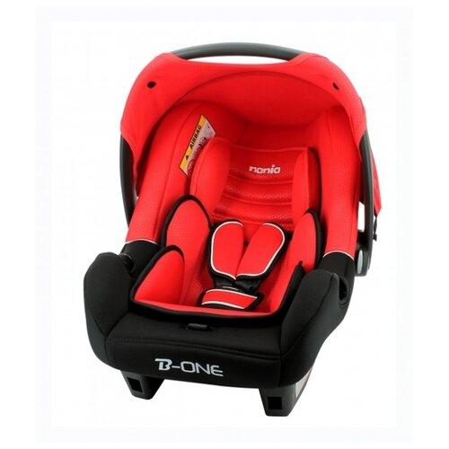 Купить Автокресло-переноска группа 0+ (до 13 кг) Nania BeOne SP Luxe, red, Автокресла