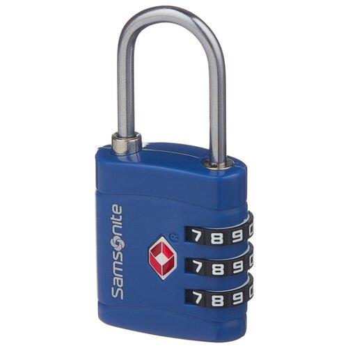 Замок для багажа Samsonite CO1-11099/09099/96099/90099, синий ремень для багажа samsonite co1 11056 96056 09056 синий