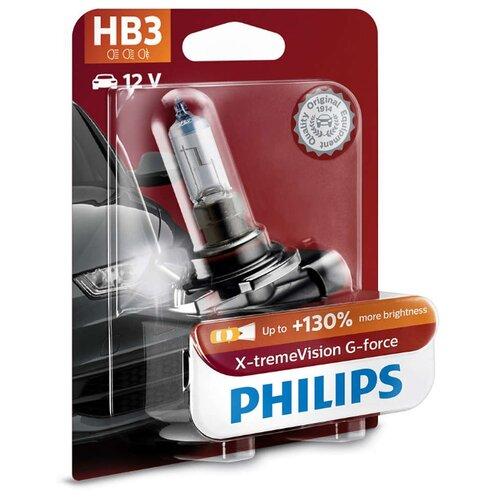 цена на Лампа автомобильная галогенная Philips 9005XVGB1 HB3 12V 60W 1 шт.