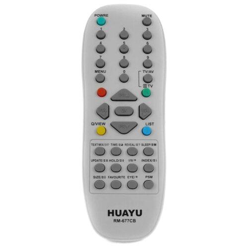 Фото - Пульт ДУ Huayu RM-677CB для телевизоров LG серый пульт ду huayu rm 836c для для телевизоров philips rc1205b 30063555 rc0770 rc19036002 rc19036001 rc19042001 серый