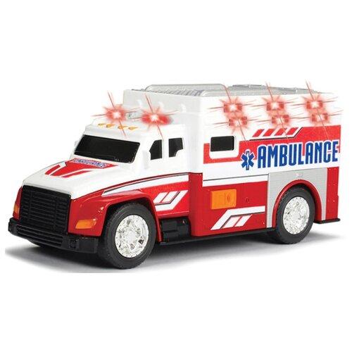 Купить Фургон Dickie Toys Скорая помощь (3302013) 15 см белый/красный, Машинки и техника