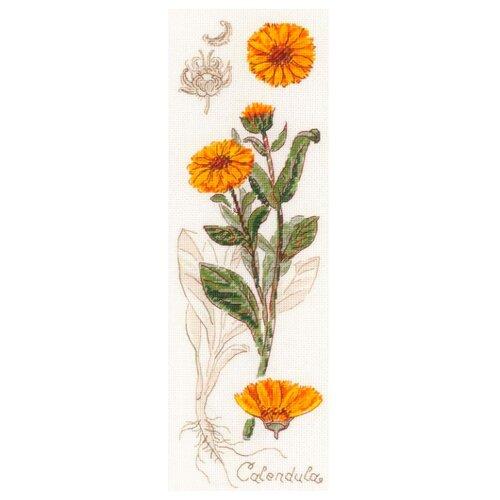 Купить Риолис Набор для вышивания Календула 10 x 30 см (1798), Наборы для вышивания