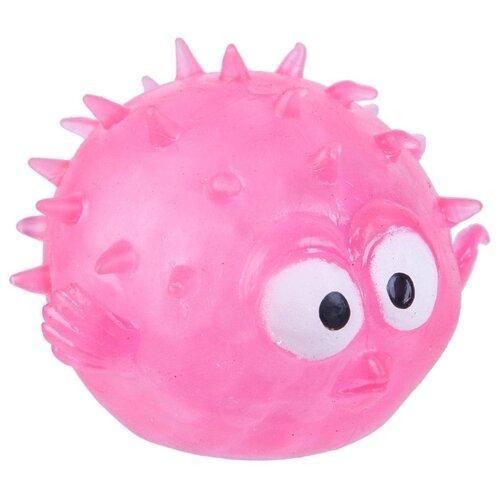 Игрушка-антистресс BONDIBON Мякиш. Рыба-еж (ВВ3035) розовый