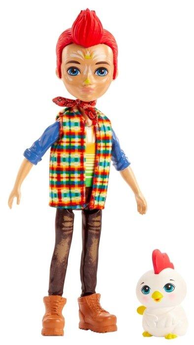 Кукла Enchantimals со зверюшкой Ривод Рустер и Клак, GJX39 — купить по выгодной цене на Яндекс.Маркете