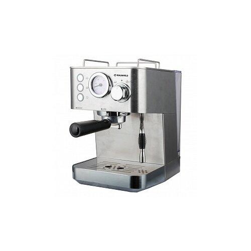 Кофеварка рожковая MAUNFELD MF-721S PRO нержавеющая сталь