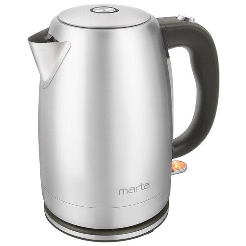 Чайник MARTA MT-4558, серый жемчуг