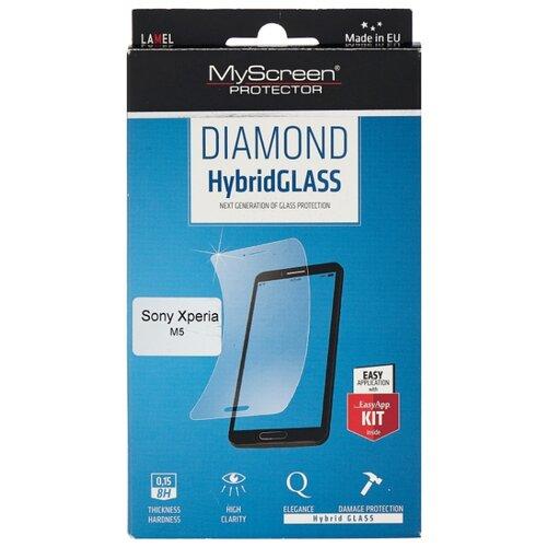 Защитное стекло Lamel MyScreen DIAMOND HybridGLASS M2603HG для Sony Xperia M5 прозрачный цена 2017
