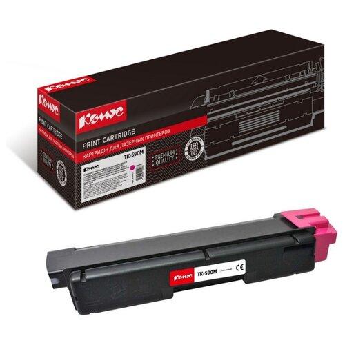 Фото - Картридж лазерный Комус TK-590M для KyoceraFS-C2026MFP/C2626M тонер картридж tk 590m