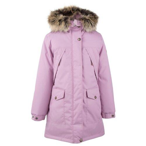 Купить Парка KERRY Polly K20459 размер 134, 00122 розовый, Куртки и пуховики