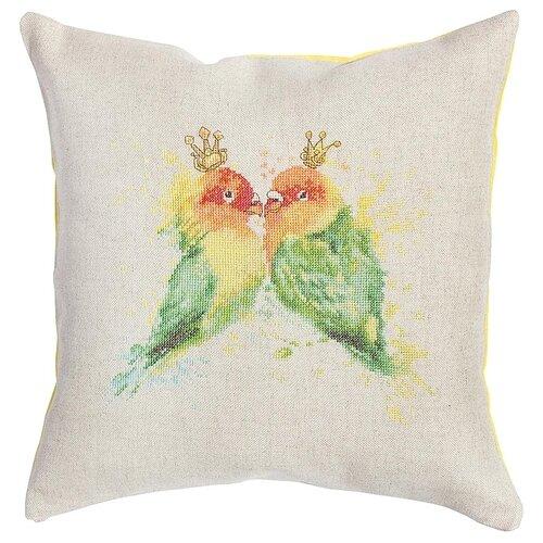 Купить Luca-S Набор для вышивания подушки Попугаи 40 х 40 см (PB145), Наборы для вышивания