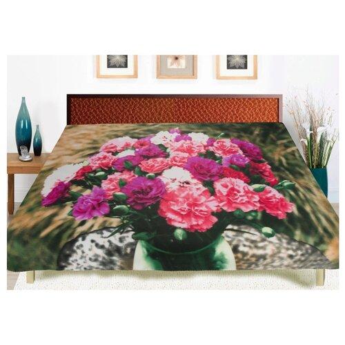 Фото - Покрывало Guten Morgen Гвоздики, 150 x 200 см, розовый/зеленый плед guten morgen гортензия 150