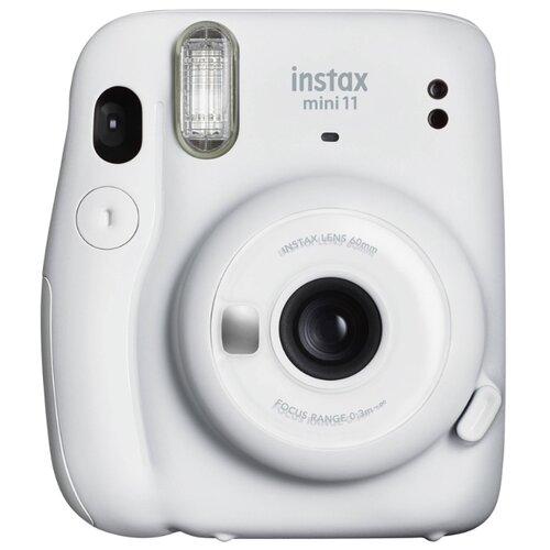 Фото - Фотоаппарат моментальной печати Fujifilm Instax Mini 11, белый лед фотоаппарат fujifilm instax mini 9 flamingo pink