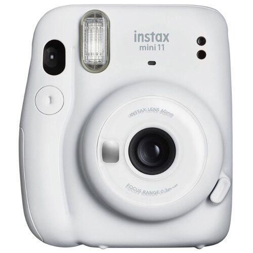 Фото - Фотоаппарат моментальной печати Fujifilm Instax Mini 11, ice white фотоаппарат моментальной печати canon zoemini c цвет морской волны