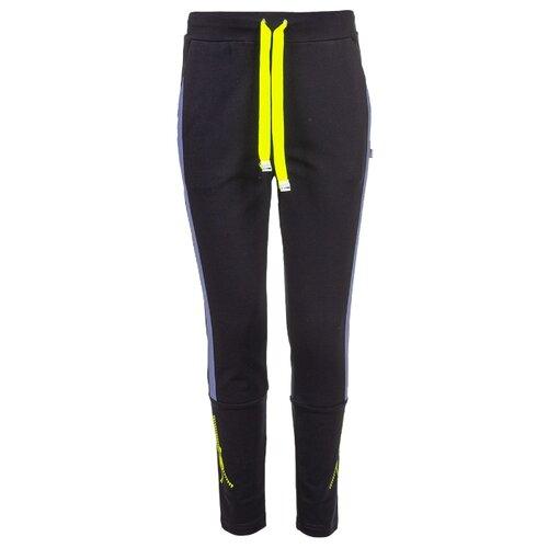 Фото - Спортивные брюки Nota Bene размер 122, темно-синий худи nota bene размер 122 темно синий