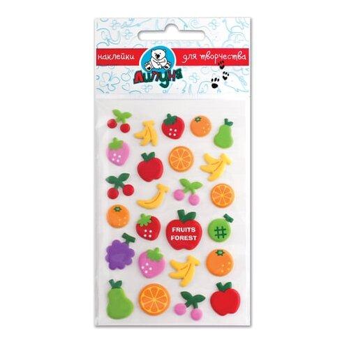 Липуня Набор наклеек Зефирные фрукты (MMS005)
