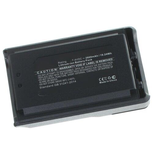 Аккумулятор iBatt iB-U1-M5237 2600mAh для Vertex VX-231, VX-230, VX-231L, VX-234, для YAESU VX-231, VX-230, VX-231L, VX-234,
