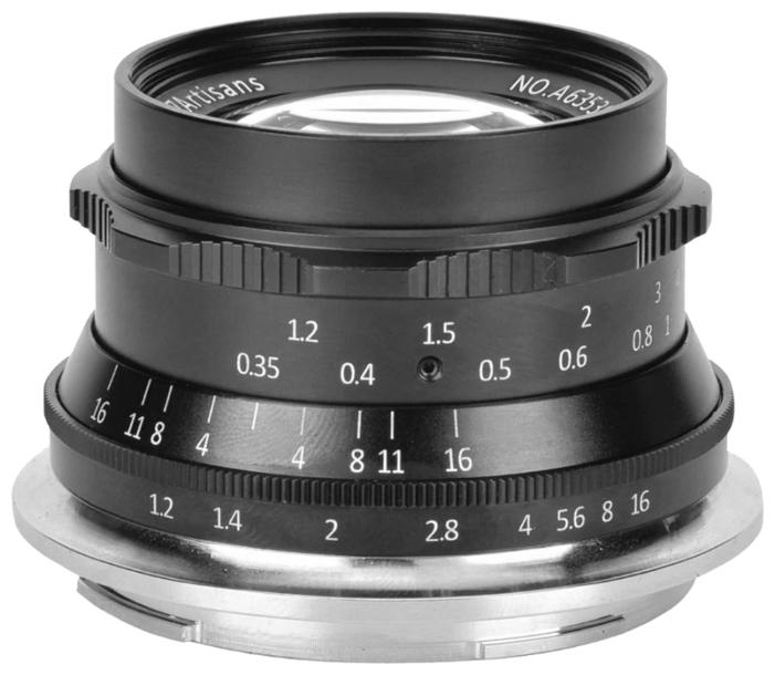 Объектив 7artisans 35mm F1.2 Nikon Z