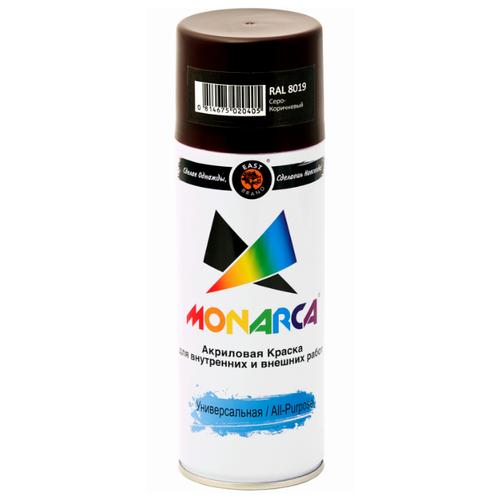 Краска Eastbrand Monarca универсальная RAL 8019 серо-коричневый 520 мл