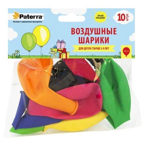Набор воздушных шаров Paterra 401-535 (10 шт.) разноцветный