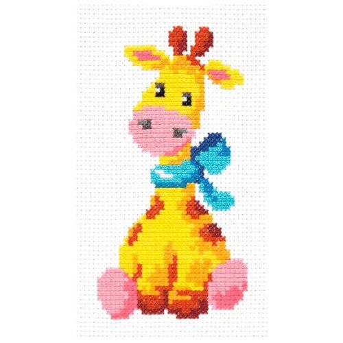 Купить Чудесная Игла Набор для вышивания Жирафик 8 х 15 см (10-34), Наборы для вышивания