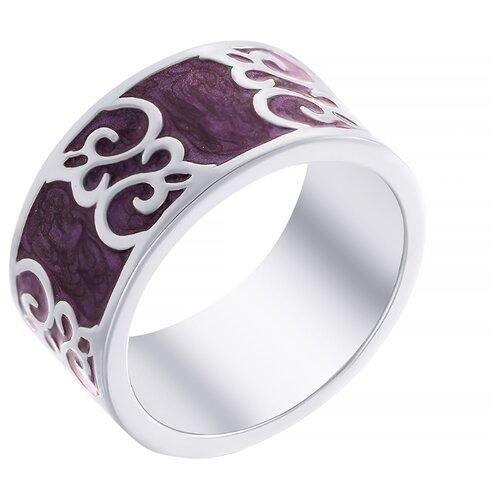 ELEMENT47 Широкое ювелирное кольцо из серебра 925 пробы с эмалью OL01255D_KO_ENAM_001_WG, размер 17- преимущества, отзывы, как заказать товар за 5928 руб. Бренд ELEMENT47