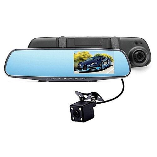 Видеорегистратор Vehicle Blackbox DVR Full HD, 2 камеры черный автомобильный видеорегистратор 1080p dvr 2 tft lcd dvr hd