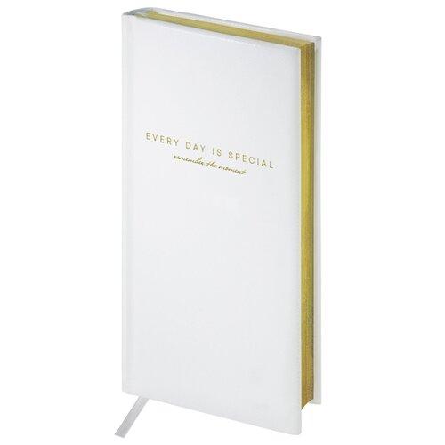 Купить Еженедельник OfficeSpace Dallas полудатированный, искусственная кожа, А6, 64 листов, белый, Ежедневники, записные книжки
