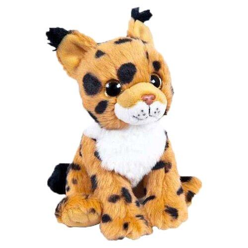 Мягкая игрушка Junfa toys В дикой природе Рысенок 15 см