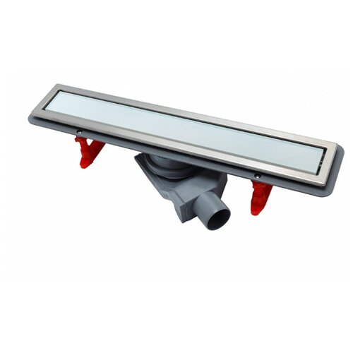 Лоток для душа PESTAN Confluo Premium White Glass Line 550 13000282