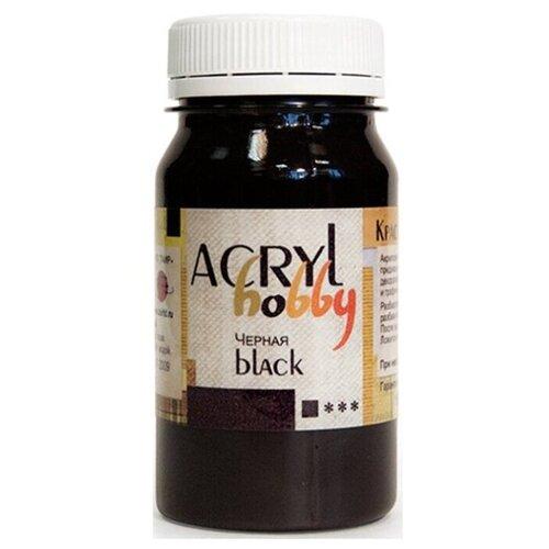 Таир Краска акриловая Acryl Hobby 100 мл черный