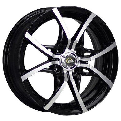 Фото - Колесный диск Cross Street Y-5314 6x15/4x100 D60.1 ET40 BKF колесный диск cross street y3176 6x15 4x100 d60 1 et49 silver