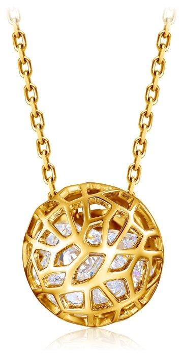 Бронницкий Ювелир Колье из желтого золота 54311744