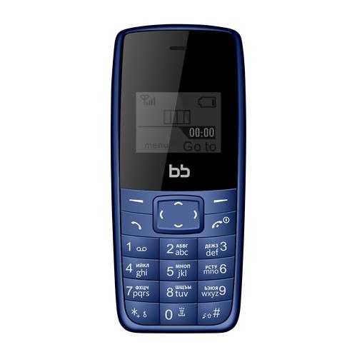 Фото - Телефон BB 1 синий (BB-BP-12) bb